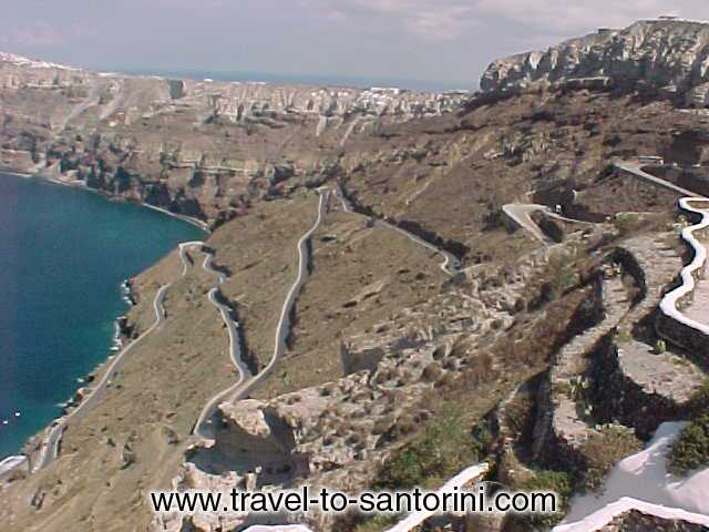 ZIG ZAGGED ROAD TO ATHINIOS -