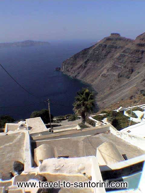 Skaros view from Firostefani -