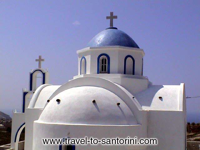 Akrotiri church -