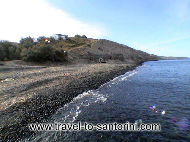 Vourvoulos beach view - View of the north part of Vourvoulos beach