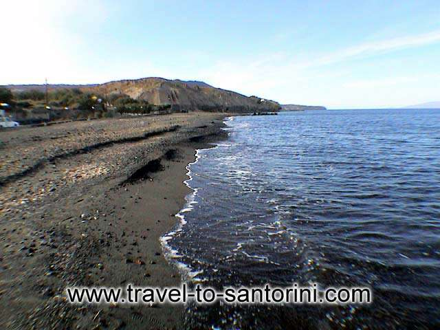 Vourvoulos beach view - View of the sandy beach of Vourvoulos beach