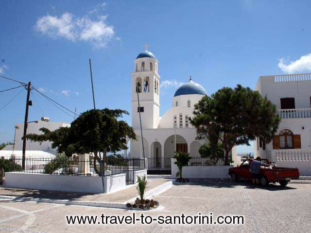 CHURCH - Church in Vourvoulos square