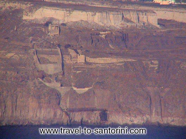 PUMICE STONE QUARRIES - The Mavromatis mine today known and owned by Metaxas and Atlantis S.A.