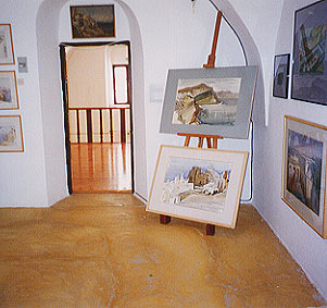 View of the Paintings hall -
