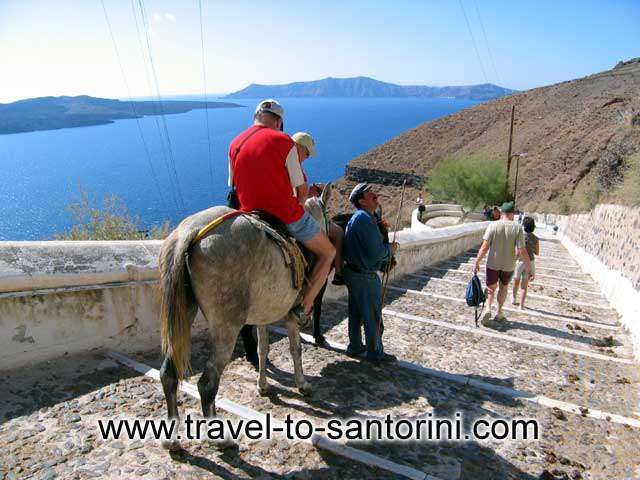 Riding at Gialos -