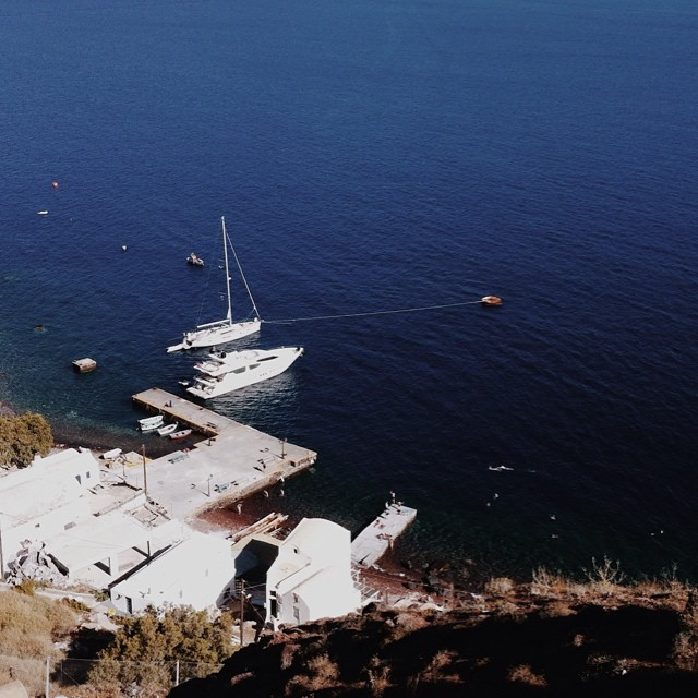 Armeni harbour from above -