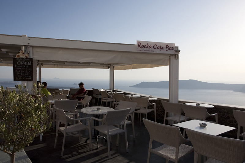 Rocka Cafe Wine Bar IN  Imerovigli Santorini Cyclades islands Greece