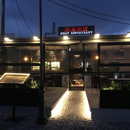 RARE Meat Restaurant IN  Imerovigli Gali square