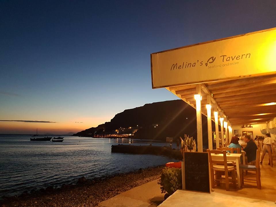 Melina's Tavern IN  Akrotiri