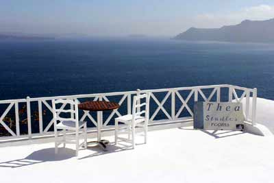 THEA CAVE STUDIOS IN  Oia Santorini Cyclades islands