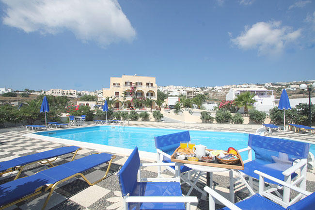 VILLA ROMANTIC  HOTELS IN  Fira Santorini Cyclades islands