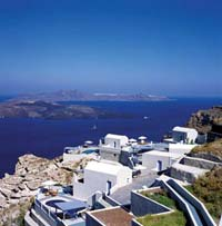 VOLCANO VIEW VILLAS IN  FIRA