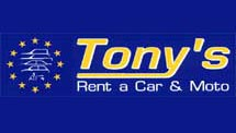 TONYS RENT A CAR IN  Fira