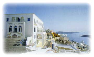 ATLANTIS HOTEL  HOTELS IN  Mitropolis square, Fira