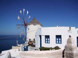 MYLOS CAFE IN  OIA