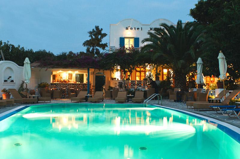 MATINA HOTEL IN  Kamari