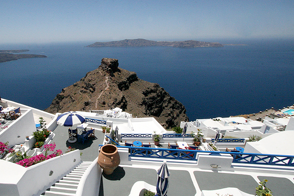 Hotels In Imerovigli Santorini Greece