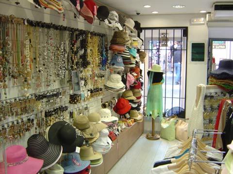 Hondos Center Shopping In Fira Santorini Greece