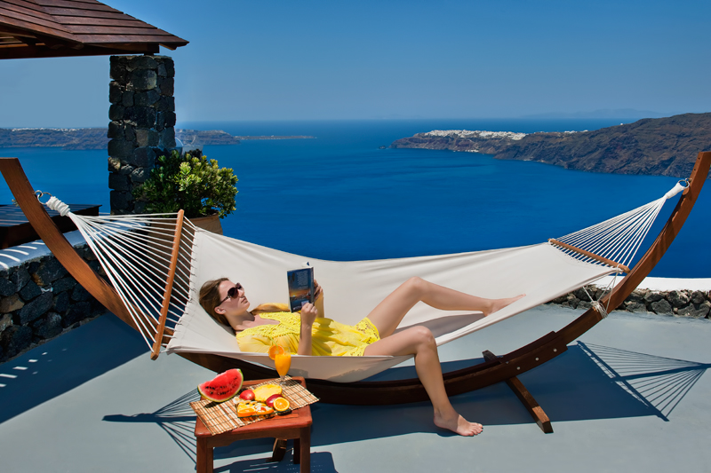 CALDERAS MEMORIES  HOTELS IN  Imerovigli Santorini Cyclades islands