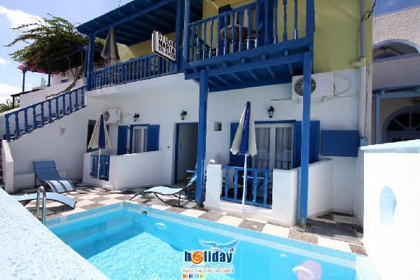 STUDIO MARIA IN  Perissa Santorini Cyclades islands