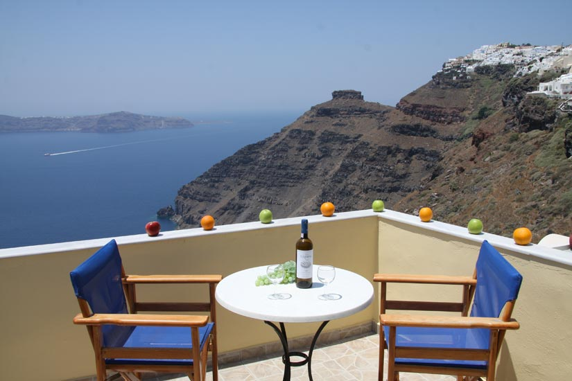 MYLOS HOTEL IN  Firostefani Santorini Cyclades islands
