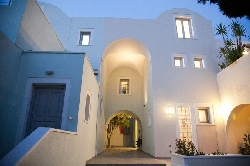 ATRIUM VILLA IN  P.O. Box 5, Fira