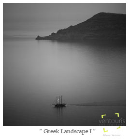 Greek Landscape I  Ventouris photographs recount the magic and the feel of the greek nature, as well as the continuous dialog man develops with it. He travels through towns and state lines, trying to show to the spectators everything that moves him and everything he loves. ...