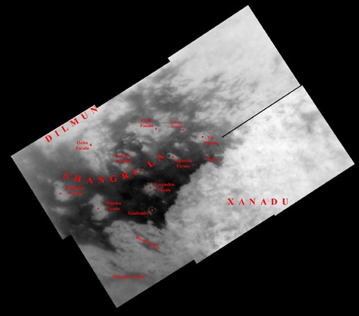 Like an ancient mariner charting the coastline of an unexplored wilderness, Cassini's repeated encounters with Titan are turning a mysterious world into a more familiar place. More on NASA - Titan su...