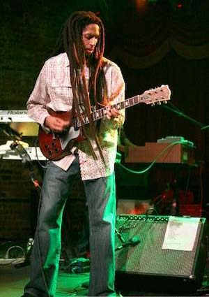 Julian Marley live in concert, Santorini 2010 A Julian JuJu Marley, Bob Marley s son, concert is organized by the Public Benefit Institution of Thira Municipality, on August 10th 2010 at 21:00 in Panthiraikos football ground, in Fira...