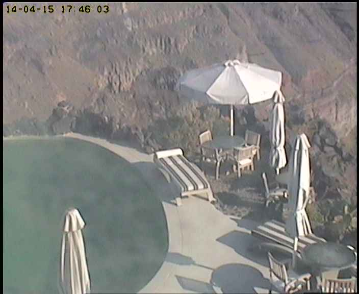 Santorini webcam - Honeymoon Petra Villas webcam, Cyclades, Cyclades