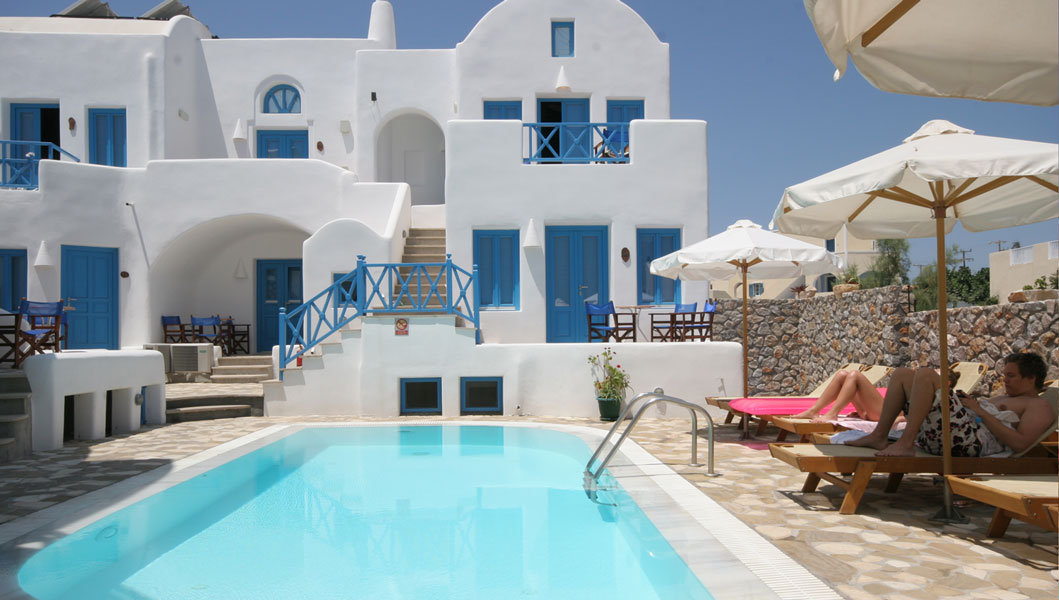 Hotel Sea Side Hotels In Ri Santorini Greece Seaside Beach